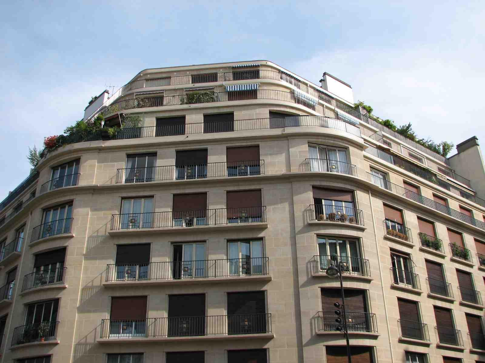 appartement à vendre paris 75116, 27m2 balcons terrasse, 8eme étage