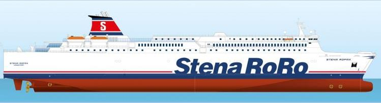 Photomontage : copyright Stena RoRo