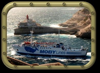 La sortie du port de Bonifacio, destination Sardaigne