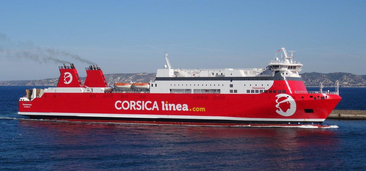 L'arrivée du Vizzavona à Marseille le 18 juin 2018 ; photo : Jean-Pierre Fabre