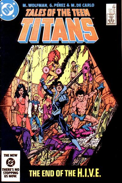 Good, Tales of the teen titans what? pity