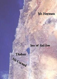 montagnes de Galilee