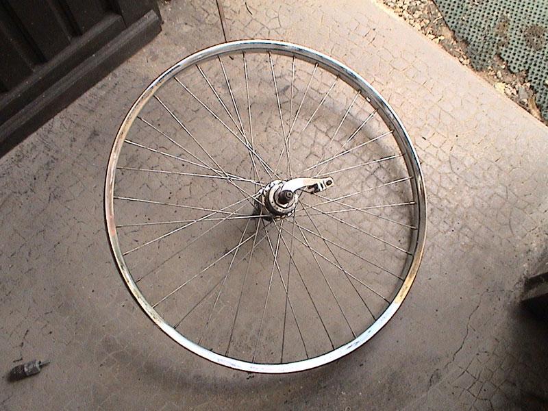 remettre roue velo