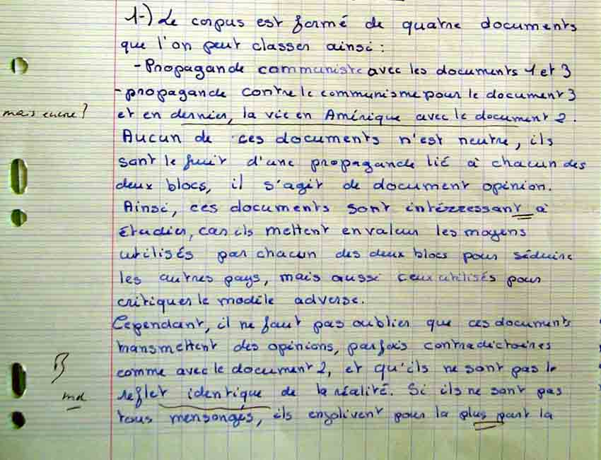 Commentaire Dissertation Diffrence