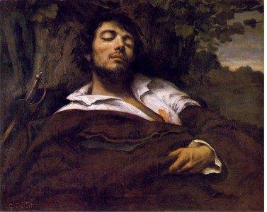 Courbet au Grand Palais - Palimpseste Homme_blesse