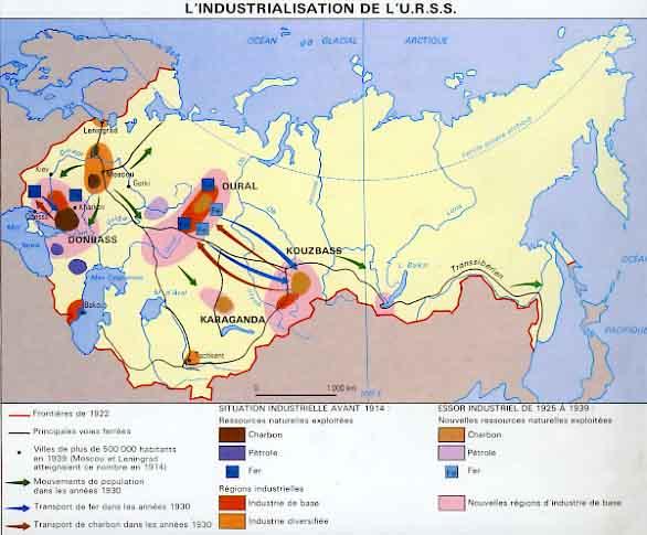 Carte Urss.L Urss De Staline 1921