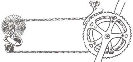 illustration braquets - © www.LesVelosDePatrick.com tous droits r�serv�s