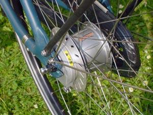 Frein à tambour vélo