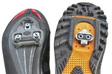 cales montées sur chaussures