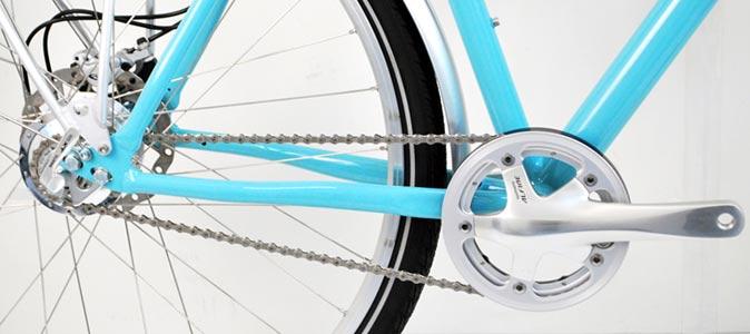 Rohloff vélo De Patrick bleu céleste- © www.LesVelosDePatrick.com tous droits réservés
