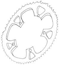 illustration singlespeed 4 - © www.LesVelosDePatrick.com tous droits réservés