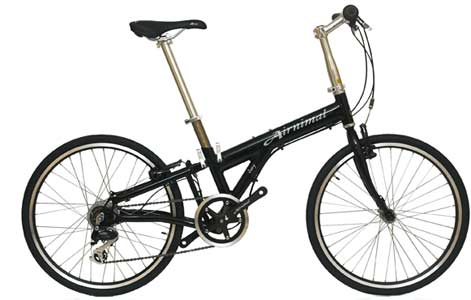 Airnimal Joey folding bike - © www.LesVelosDePatrick.com tous droits réservés