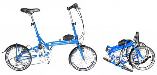Bike Friday folding bike - © www.LesVelosDePatrick.com tous droits r�serv�s