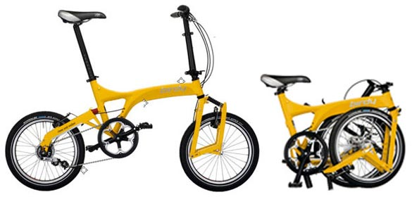 Birdy folding bike - © www.LesVelosDePatrick.com tous droits réservés