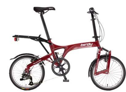 Birdy City folding bike - © www.LesVelosDePatrick.com tous droits réservés