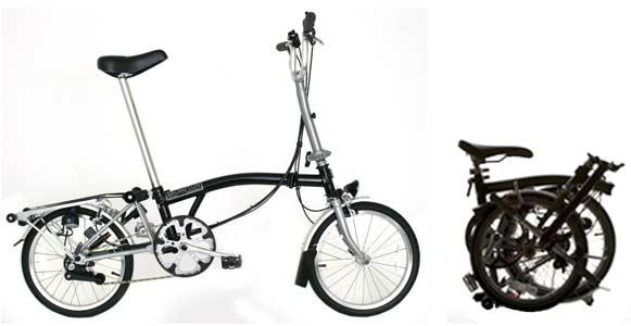 Brompton folding bike - © www.LesVelosDePatrick.com tous droits réservés