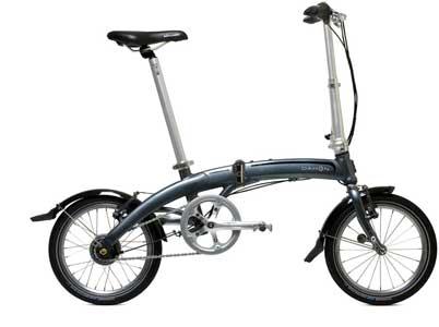 Dahon Curve folding bike - © www.LesVelosDePatrick.com tous droits réservés
