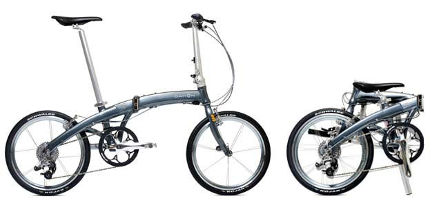 Dahon Mu SL folding bike - © www.LesVelosDePatrick.com tous droits réservés