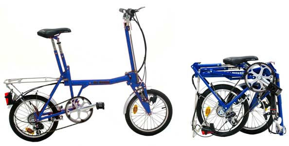 Di Blasi folding bike - © www.LesVelosDePatrick.com tous droits réservés