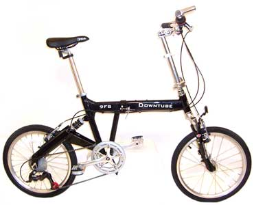 Downtube FS folding bike - © www.LesVelosDePatrick.com tous droits r�serv�s