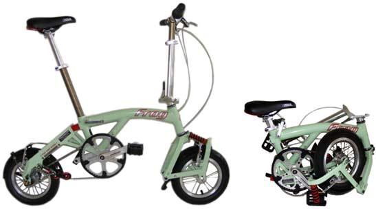 Frog folding bike - © www.LesVelosDePatrick.com tous droits réservés