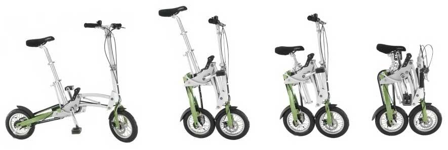 Mobiky folding bike - © www.LesVelosDePatrick.com tous droits réservés