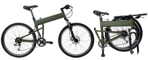 Montague  mountain folding bike - © www.LesVelosDePatrick.com tous droits r�serv�s