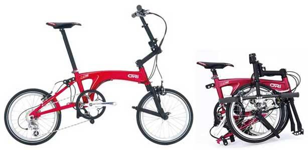 Ori folding bike - © www.LesVelosDePatrick.com tous droits réservés