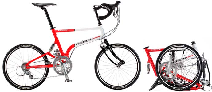 Pacific Reach Road folding bike - © www.LesVelosDePatrick.com tous droits r�serv�s