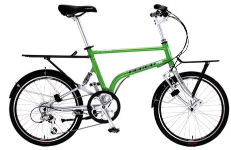 Pacific Reach City folding bike - © www.LesVelosDePatrick.com tous droits r�serv�s