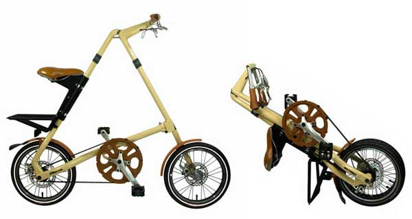 Strida folding bike - © www.LesVelosDePatrick.com tous droits r�serv�s
