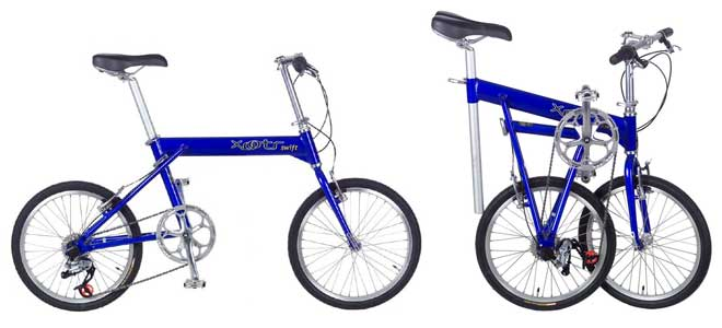 Xootr Swift folding bike - © www.LesVelosDePatrick.com tous droits r�serv�s