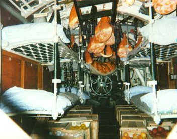 La vie bord d 39 un u boot for Interieur u boat